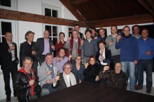 De partijen heffen het Glas op hun nieuwe Samenwerkingsverband
